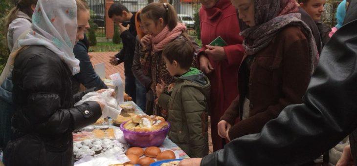Итог Благотворительной ярмарки на территории Свято-Алексеевского храма города Одессы в помощь Андрюше Малиновскому