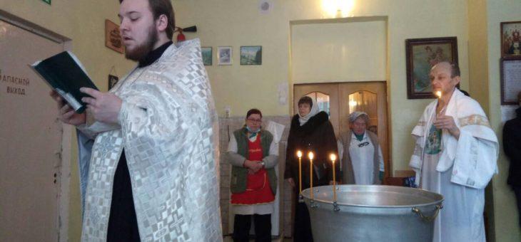Молодежный актив социального отдела Одесской епархии посетил противотуберкулезное отделение №17 Одесской областной психиатрической больницы