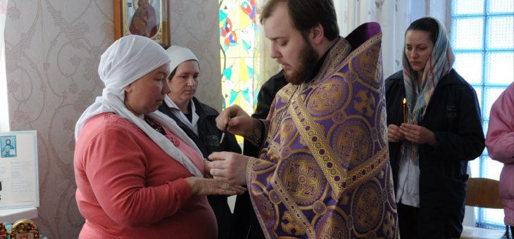 Сотрудник социального отдела Одесской епархии священник Андрей Полещук посетил заключенных Черноморской исправительной колонии