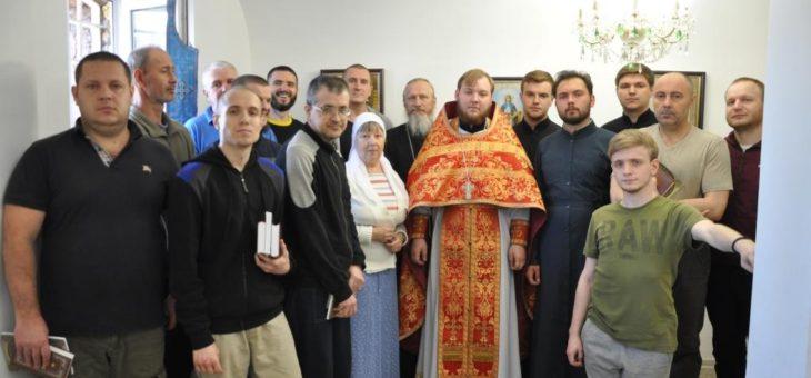 Сотрудники социального отдела Одесской епархии и студенты Одесской духовной семинарии посетили задержанных Одесского СИЗО