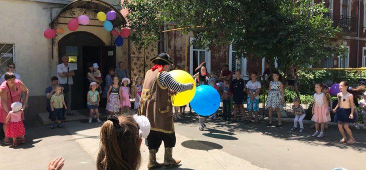 По благословению Митрополита Агафангела состоялся праздник в рамках празднования Международного дня защиты детей