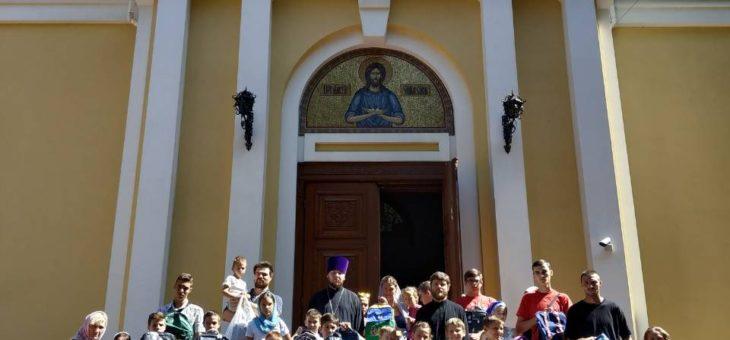 Отделом по благотворительности и социальному служению Одесской епархии была проведена акция «Собери ребенка в школу»