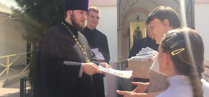 Сотрудники социального отдела Одесской епархии совместно со студентами первого курса Одессой духовной семинарии посетили Одесский дом-интернат для детей инвалидов