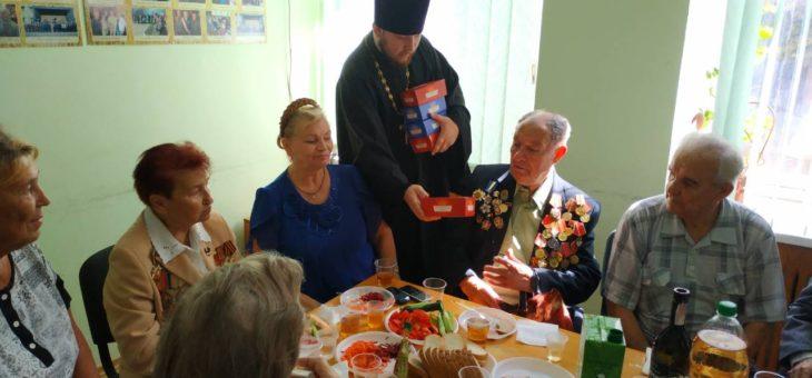Сотрудники социального отдела Одесской епархии посетили ветеранов города Одессы
