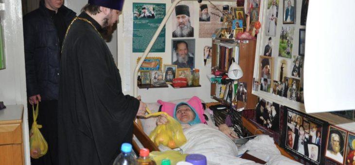 Студенты Одесской духовной семинарии посетили подопечных Дом милосердия Свято-Архангело-Михайловского женского монастыря Одессы