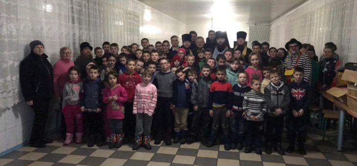 Духовенство Одесской епархии посетило интернат для детей с проблемами умственного развития села Михайловка Саратского района Одесской области