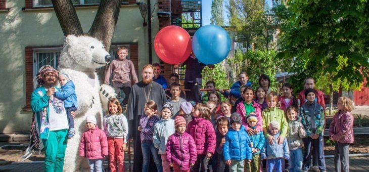 Одесская епархия организовала детский праздник подопечным Центра социально-психологической реабилитации детей Одесского городского совета Одесской области
