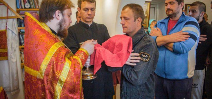 Сотрудники социального отдела Одесской епархии посетили задержанных Одесского следственного изолятора