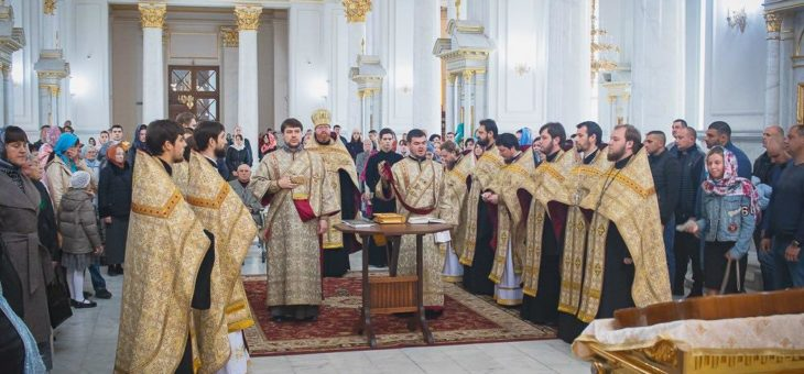 В Одесской епархии отметили День молитвы за сирот