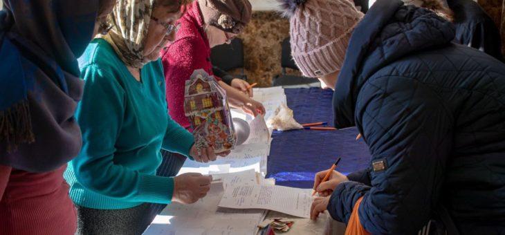 Состоялась очередная выдача гуманитарной помощи от Одесской епархии УПЦ